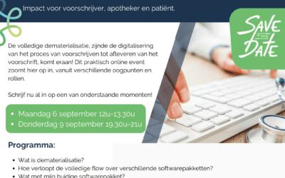 Opleidingen rond dematerialisatie via Vivel & Domus Medica